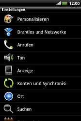 HTC A310e Explorer - MMS - Manuelle Konfiguration - Schritt 4