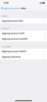 Apple iPhone X - iOS 12 - E-mail - configurazione manuale - Fase 6