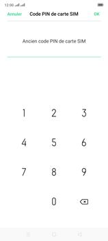 Oppo Reno 2 - Sécuriser votre mobile - Personnaliser le code PIN de votre carte SIM - Étape 9