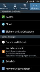 Samsung Galaxy S III Neo - Fehlerbehebung - Handy zurücksetzen - 7 / 12