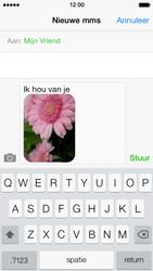 Apple iPhone 5s - MMS - Afbeeldingen verzenden - Stap 12