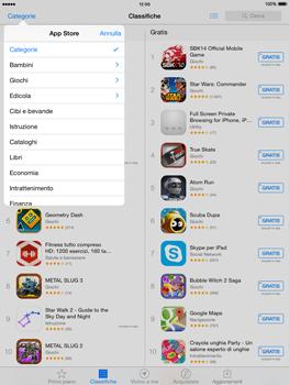 Apple iPad mini iOS 8 - Applicazioni - Installazione delle applicazioni - Fase 7