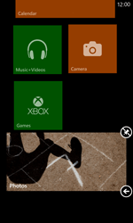 Nokia Lumia 820 / Lumia 920 - Getting started - Personalising your Start screen - Step 11