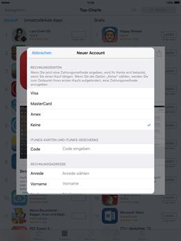 Apple iPad Air 2 - Apps - Konto anlegen und einrichten - 27 / 35