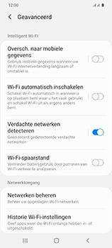 Samsung Galaxy S20 - wifi - schakel Wi-Fi Assistentie uit - stap 11