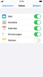 Apple iPhone SE - iOS 14 - E-Mail - 032b. Email wizard - Yahoo - Schritt 8