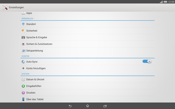 Sony Xperia Tablet Z2 LTE - Software - Installieren von Software-Updates - Schritt 5