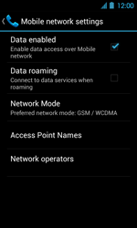 Acer Liquid Glow E330 - Internet - Manual configuration - Step 7