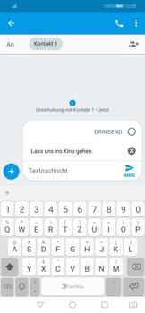 Huawei Mate 20 Lite - MMS - Erstellen und senden - 10 / 20