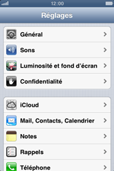 Apple iPhone 3GS - MMS - Configuration manuelle - Étape 3