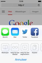 Apple iPhone 4 S iOS 7 - Internet - Internetten - Stap 5