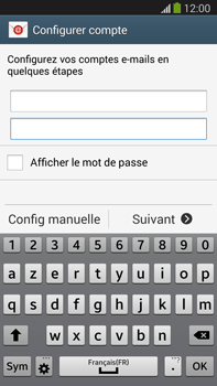 Samsung N9005 Galaxy Note III LTE - E-mail - Configuration manuelle - Étape 6