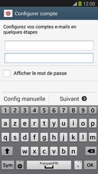 Samsung Galaxy Note III LTE - E-mail - configuration manuelle - Étape 6