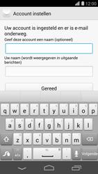 Huawei Ascend P7 - E-mail - Handmatig instellen - Stap 19