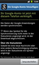 Samsung Galaxy S Plus - Apps - Konto anlegen und einrichten - 17 / 20