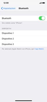 Apple iPhone XS - Bluetooth - Collegamento dei dispositivi - Fase 7