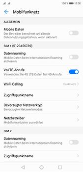 Huawei P20 Pro - Internet und Datenroaming - Prüfen, ob Datenkonnektivität aktiviert ist - Schritt 5