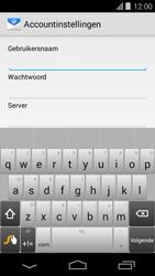 Acer Liquid E600 - E-mail - Handmatig instellen - Stap 8