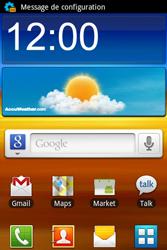 Samsung S7500 Galaxy Ace Plus - MMS - Configuration automatique - Étape 3