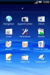 Sony Xperia X8 - Internet - Navigation sur Internet - Étape 2