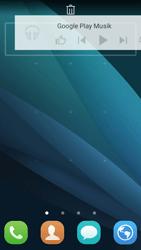 Huawei Y5 - Startanleitung - Installieren von Widgets und Apps auf der Startseite - Schritt 8