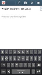 Samsung Galaxy S3 Neo - e-mail - hoe te versturen - stap 10