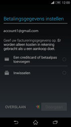 Sony Xperia Z3 Compact 4G (D5803) - Applicaties - Account aanmaken - Stap 20