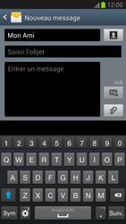 Samsung N7100 Galaxy Note II - MMS - envoi d'images - Étape 8