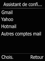 Doro 6520 - E-mails - Ajouter ou modifier votre compte Gmail - Étape 10