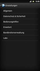 Sony Xperia S - Internet und Datenroaming - Manuelle Konfiguration - Schritt 20