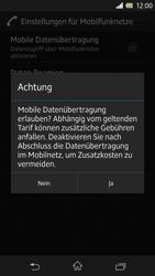 Sony Xperia Z - Internet und Datenroaming - Manuelle Konfiguration - Schritt 7