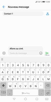 Huawei P Smart - Contact, Appels, SMS/MMS - Envoyer un MMS - Étape 11
