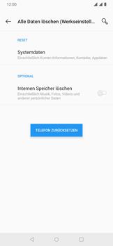 OnePlus 6T - Android Pie - Fehlerbehebung - Handy zurücksetzen - Schritt 9
