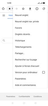 Oppo A53s - Internet et connexion - Naviguer sur internet - Étape 9