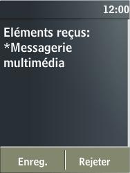 Nokia X3-02 - MMS - configuration automatique - Étape 6