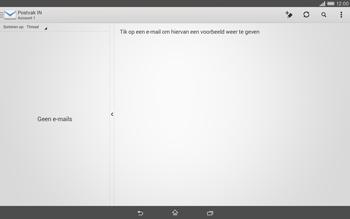 Sony Xperia Tablet Z2 (SGP521) - E-mail - e-mail versturen - Stap 3
