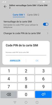 Huawei Y5P - Sécuriser votre mobile - Personnaliser le code PIN de votre carte SIM - Étape 11