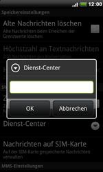 HTC Desire - SMS - Manuelle Konfiguration - 7 / 8