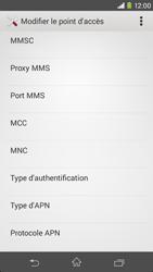 Sony D2303 Xperia M2 - MMS - configuration manuelle - Étape 11