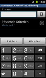 Samsung Galaxy Ace 2 - Anrufe - Anrufe blockieren - 11 / 13