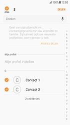 Samsung Galaxy S7 - Android N - Contacten en data - Contacten overzetten via Bluetooth - Stap 7