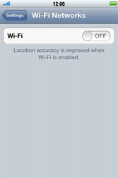 Apple iPhone 4 S - Wi-Fi - Connect to Wi-Fi network - Step 4