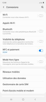 Samsung Galaxy A51 - Internet et connexion - Partager votre connexion en Wi-Fi - Étape 5