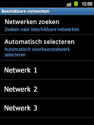 Samsung S5360 Galaxy Y - netwerk en bereik - gebruik in binnen- en buitenland - stap 10