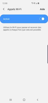 Samsung Galaxy S10e - WiFi - Activez WiFi Calling - Étape 8