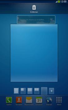 Samsung Galaxy Tab 3 8-0 LTE - Startanleitung - Installieren von Widgets und Apps auf der Startseite - Schritt 10