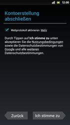 Sony Xperia S - Apps - Einrichten des App Stores - Schritt 11