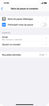 Apple iPhone X - iOS 13 - E-mail - Configuration manuelle (gmail) - Étape 10