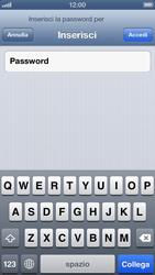 Apple iPhone 5 - WiFi - Configurazione WiFi - Fase 6