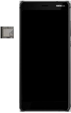 Nokia 5.1 - Appareil - comment insérer une carte SIM - Étape 8